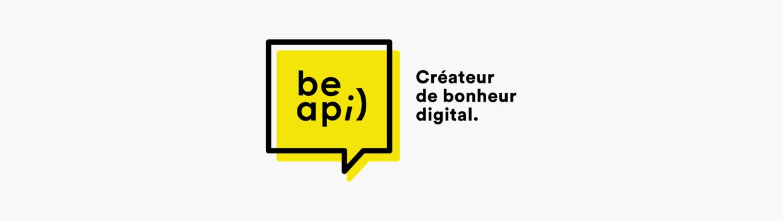 Logo de l'agence parisienne BeAPI, spécialisée dans la création de sites WordPress.