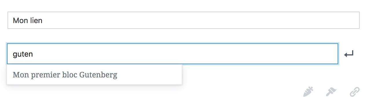 Bloc URL