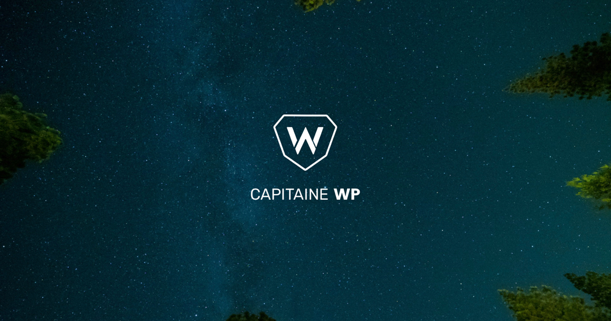 Capitaine WP - Formations WordPress pour les professionnels
